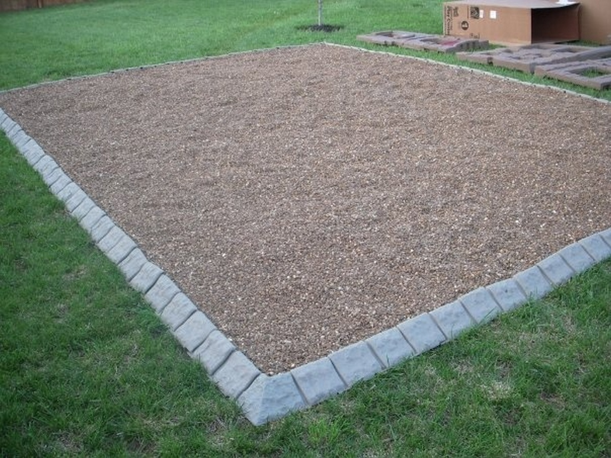 How to install stone edge landscape edging for Landscape edging