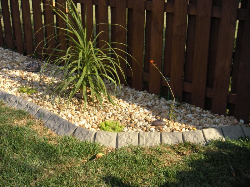 Decorative Stone Edging : Decorative garden edging photograph quot stone gar