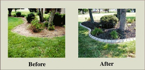 Decorative Stone Garden Edging At Yard Product Curved Concrete – Garden Decorative Stones