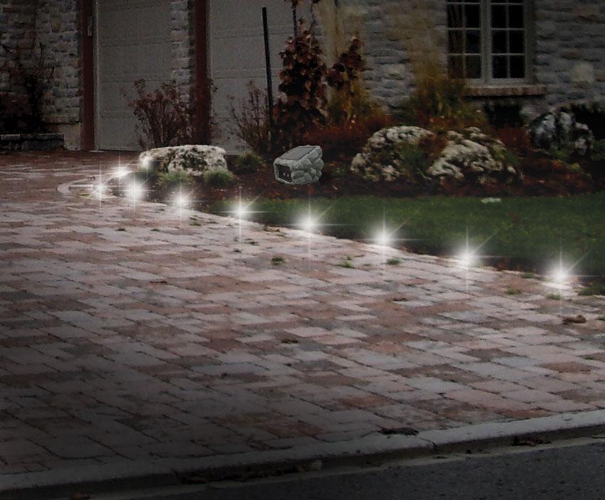 Driveway lighting ideas car interior design for Driveway landscape lighting