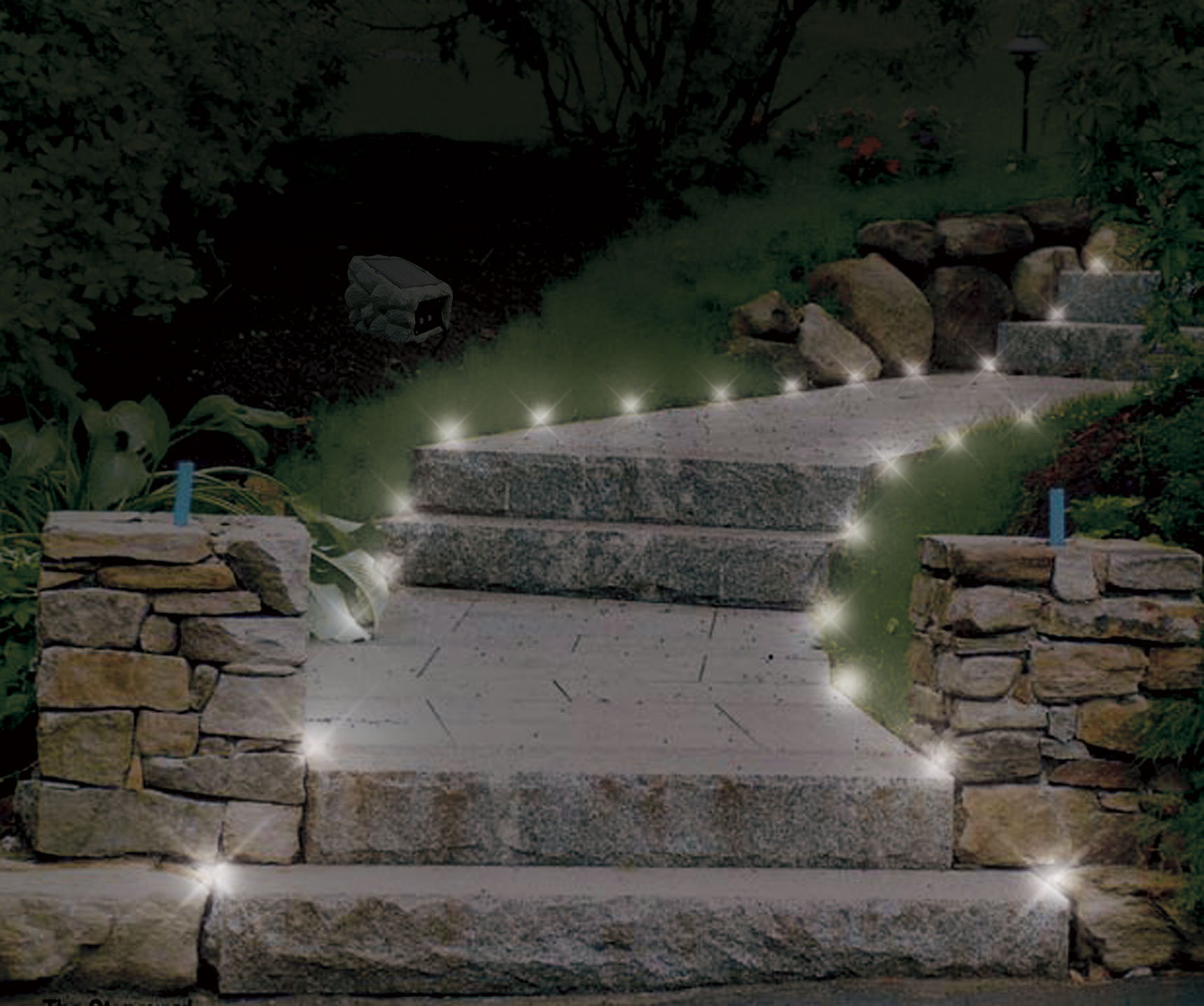 Garden and landscape edging applications and ideas pathway lighting mozeypictures Images